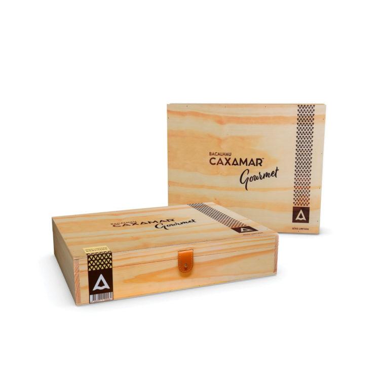 Caixa Madeira lombos Gourmet